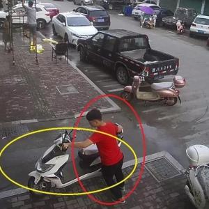 这个举动,相当于把自己的电动车送给小偷!
